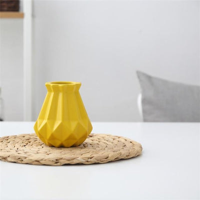 Princess by Jasmine Bergmann Vase Fresh Yellow / Small
