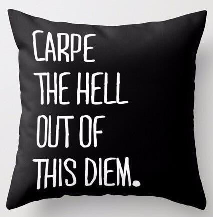 Carpe The Hell Out Of This Dream | Celiné Cushion Pillow