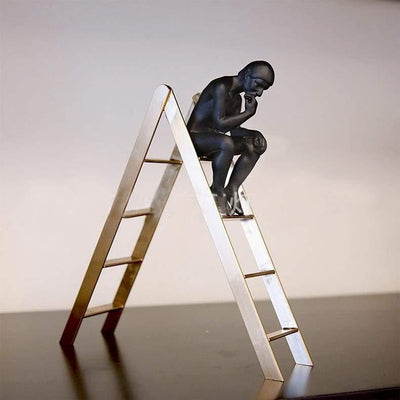 Incognito Thinker Sculpture