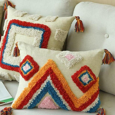 Moroccan Cushion Pillow Moroccan Happy / 35x45cm
