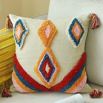 Moroccan Cushion Pillow Moroccan Triangle/ 45x45cm