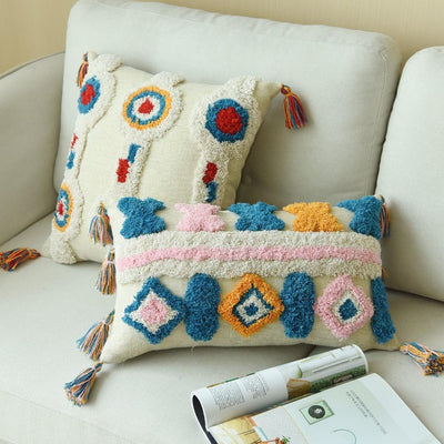 Moroccan Cushion Pillow Moroccan Blue / 30x50cm