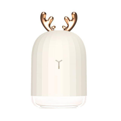 Essential Luxe Humidifier + Lamp Humidifier White deer