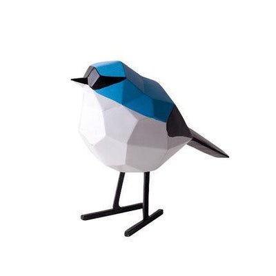 Ingiärd Birdsparkle Figure/Sculpture Decor blue