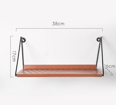 Industrial by Shields Shelf Shelf Sunny orange