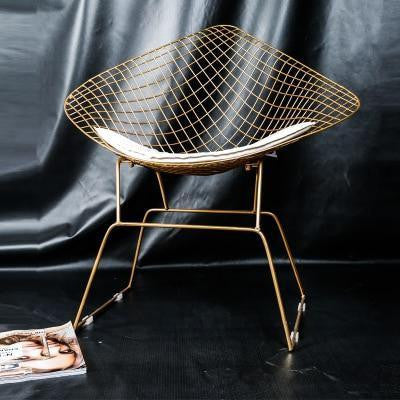 City Simplicity by Olivier Cimber Chair Brilliant Gold