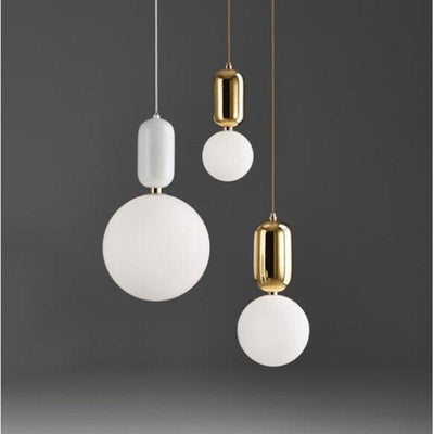 Mars by Frederick Vaux Pendant Light