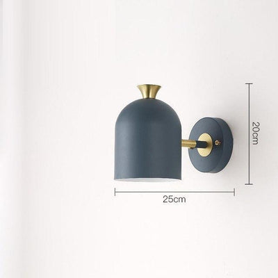 Corridor by Marie Davidsson Wall lamp Blue