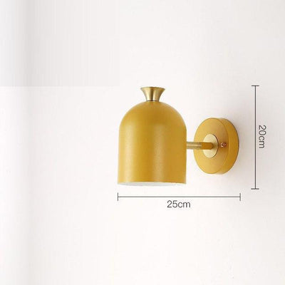 Corridor by Marie Davidsson Wall lamp Yellow