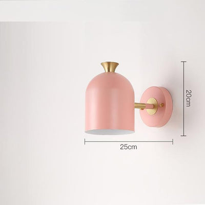 Corridor by Marie Davidsson Wall lamp Pink