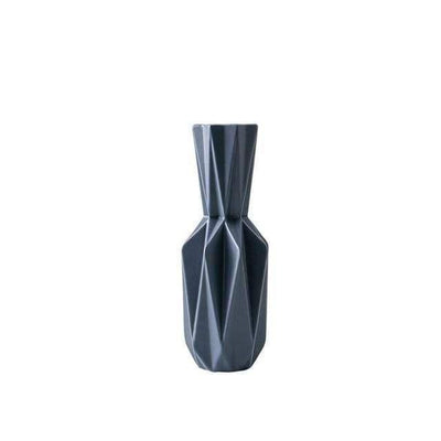 Origami By Jasmine Bergmann Eyelash Black Medium - Ceramic New Vase