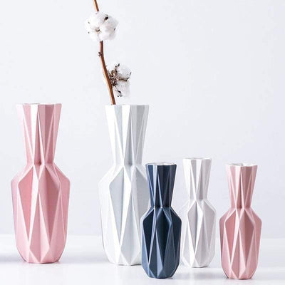 Origami By Jasmine Bergmann - Ceramic New Vase