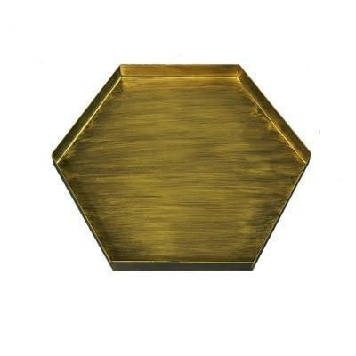 Frederick Hexagon Tray unique and elegant Tray Large