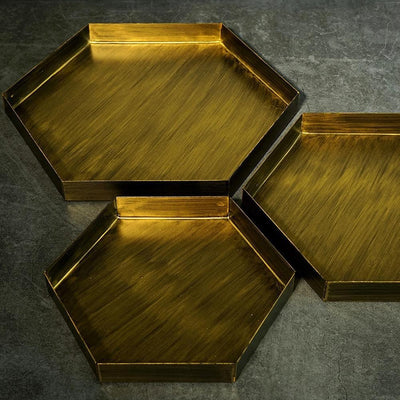 Frederick Hexagon Tray unique and elegant Tray