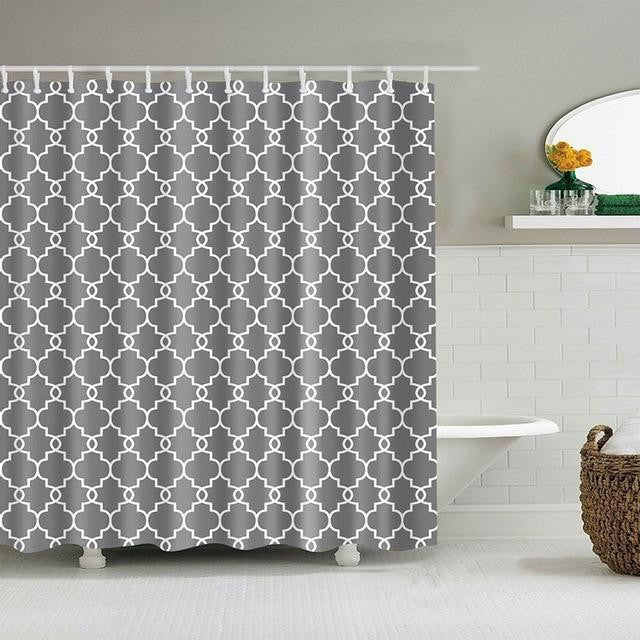 Collier Secret For Luxe Shower Curtain Shower curtain