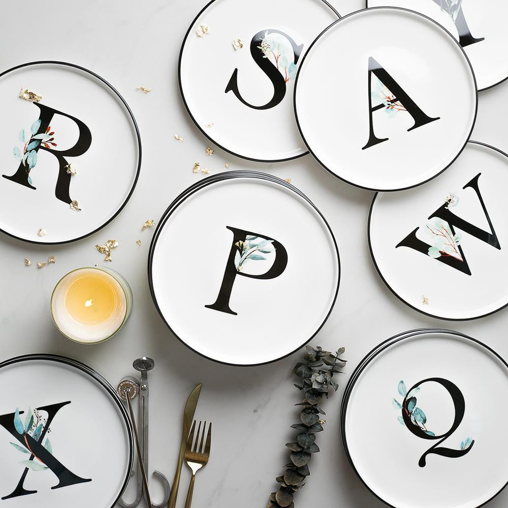 Alphabet by Kynlee Hobbs Plates