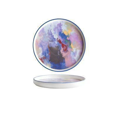 Daydream by Una Plates The Universe of the Artist / Ø17cm