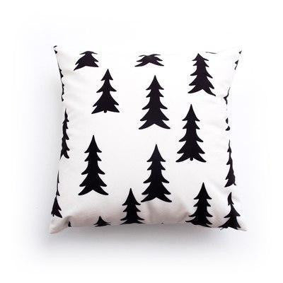 French Kiss by Celiné Desire Pillow Deep forest / 45x45cm
