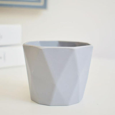 Little Hero by Jasmine Bergmann Vase Light Grey