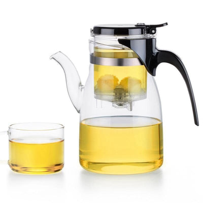 Yomoto Beatriz Glass Tea Set 900ml /4+1pcs Kettle