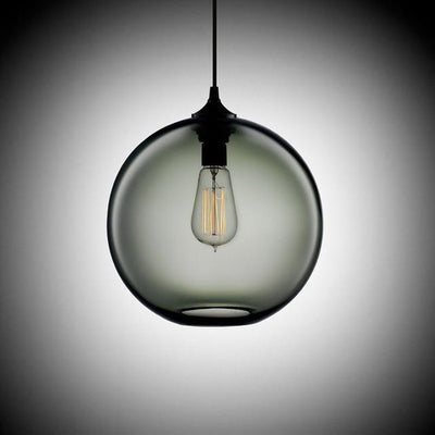 Freelight Loft Glass Globe Pendant Light unique and elegant Pendant lighting Great gray / Ø25cm