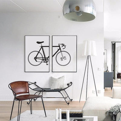 Beatrice Bike Vintage Canvas print - Wall Art