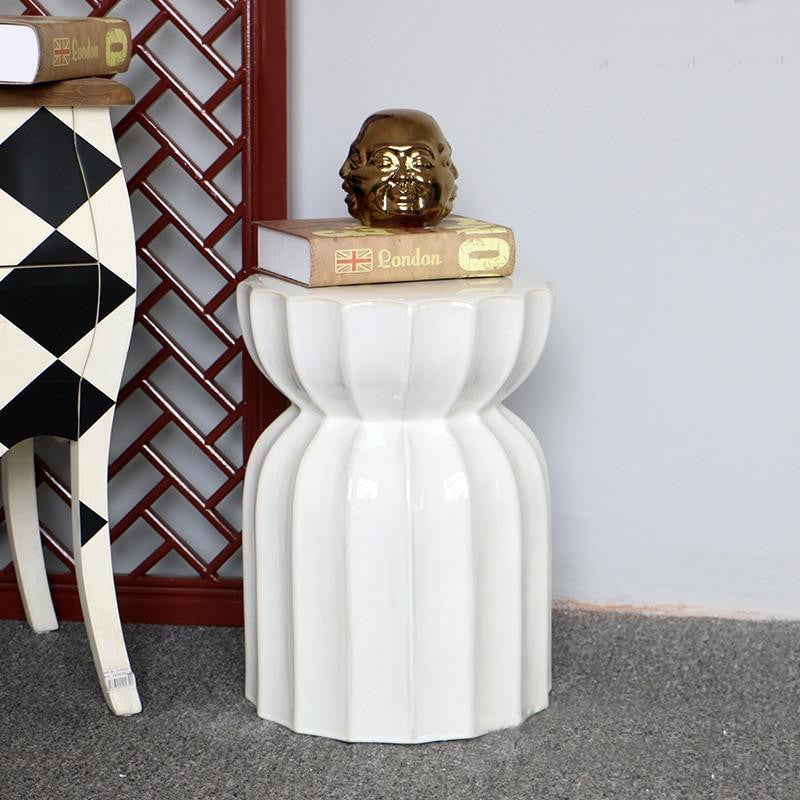 Kyleigh Goodman Porcelain Stool/Table Stool