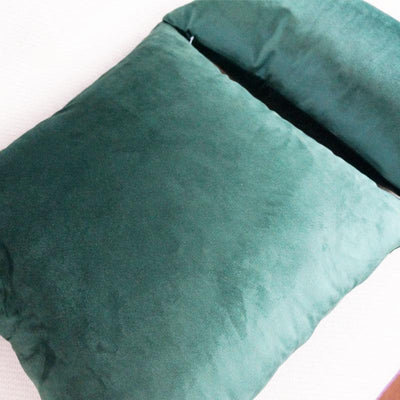 Emerald Green Luxe Pillowcase Pillow