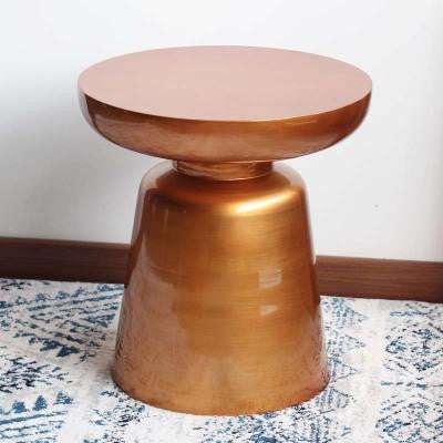 Wenddy by Olivier Cimber Stool Stool Red copper