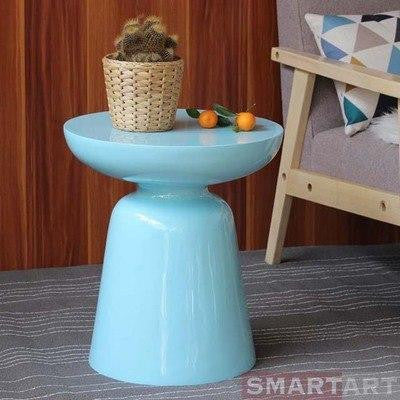 Wenddy by Olivier Cimber Stool Stool Light blue