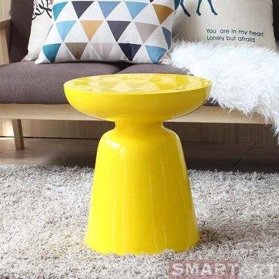 Wenddy by Olivier Cimber Stool Stool Burn Yellow