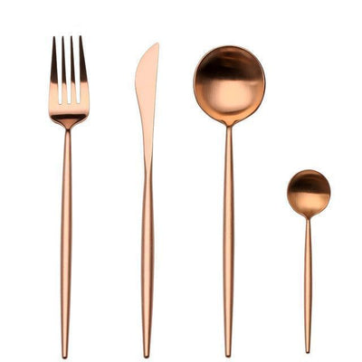 Ophelia by Zane Bautista 4pcs/set Flatware Rose