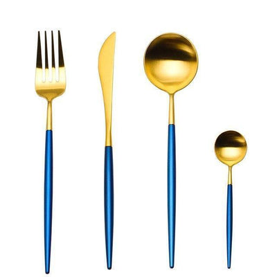 Ophelia by Zane Bautista 4pcs/set Flatware Blue