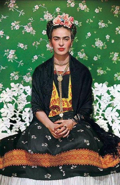 Rebel Frida Kahlo Meditation Canvas print - Wall Art