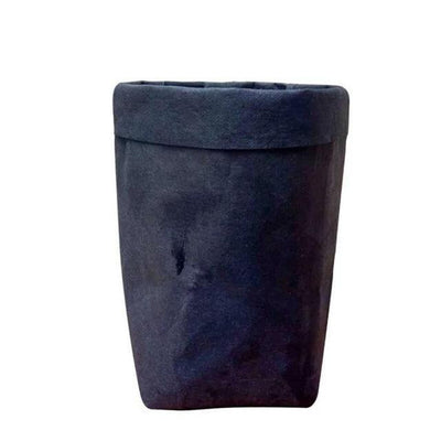 Floweri Vase/Storage Vase Earth Black / 12x12x23 cm