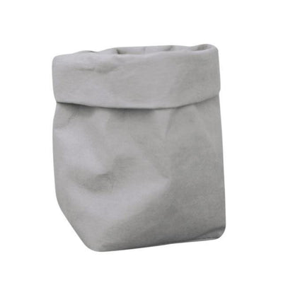 Floweri Vase/Storage Vase Perfect Grey / 12x12x23 cm