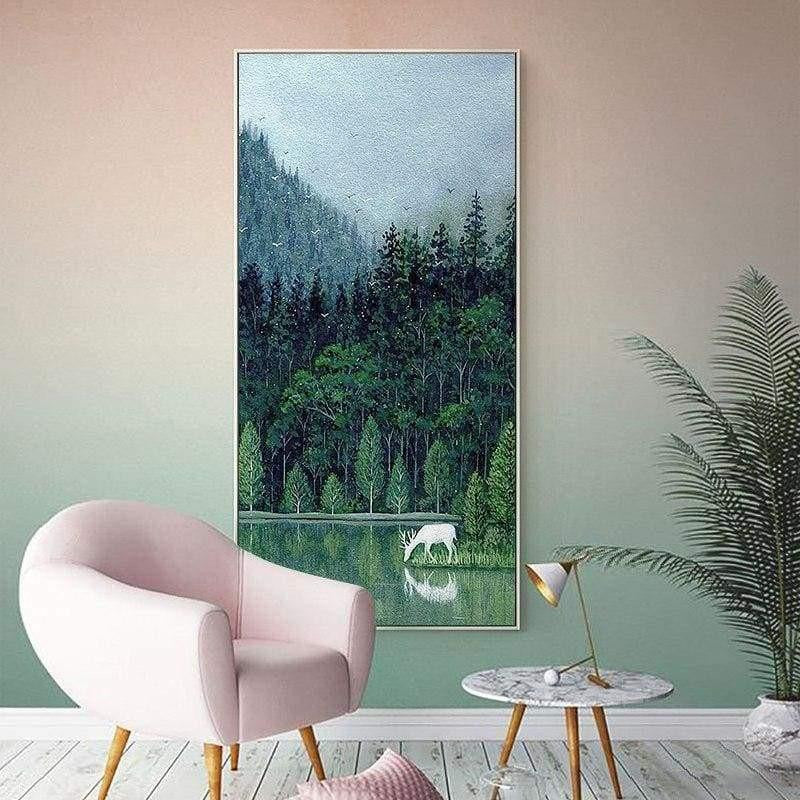 Happy Forest Canvas print - Wall Art