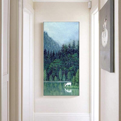 Spring Forest Canvas print - Wall Art 70x140cm