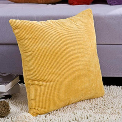 Softly by Celiné / Pillowcase Pillow 45x45cm / Yellow