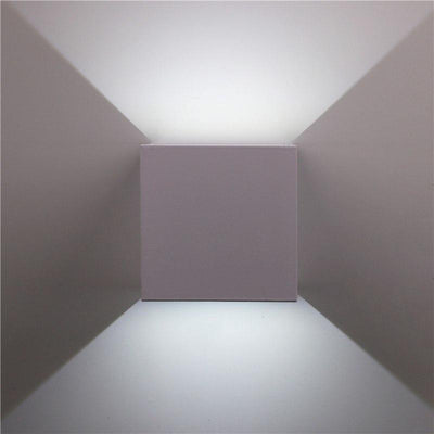 Veronica Cube S2 Wall Lamp Deco unique and elegant Wall lamp Arctic white / 7W / Cold White