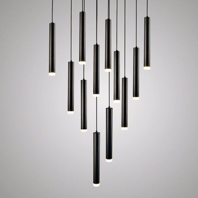 Long Rocklight Tube Kitchen Island LED Pendant Lighting unique and elegant Pendant lighting