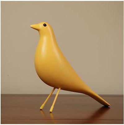 Angström FLY DOVE Bird Decor yellow / S