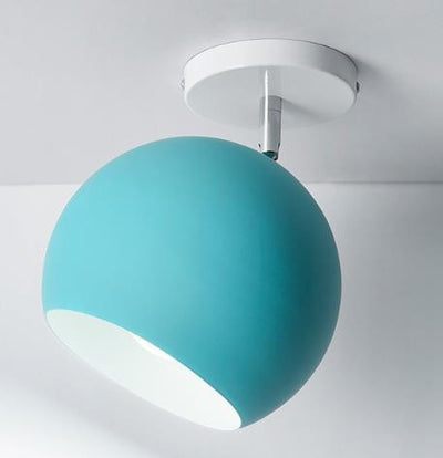 Scandinavia Personality Entrance Lamp Wall lamp Blue