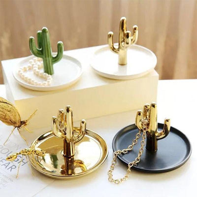Cactula Capa Jewelery Organizer/Ring Holder Decor Tray