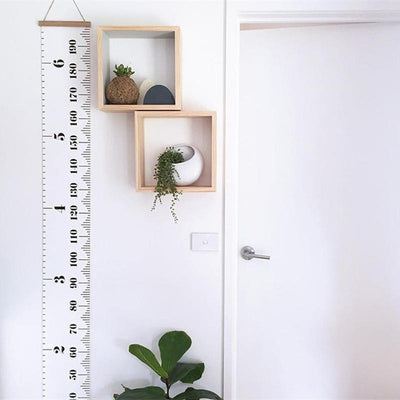 Ruler-in-the-Room Height Ruler Wall sticker