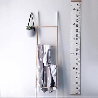 Ruler-in-the-Room Height Ruler Wall sticker Clean