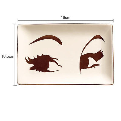 Gorgeousiela Gortwinkle Plate/Decorative Tray Tray Big Eye