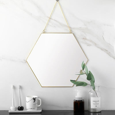 Hexagonal by Henry Jacobsson Wall Mirror Mirror