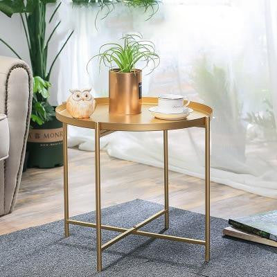 Kaden by Olivier Cimber Table Table Golden flash / Large