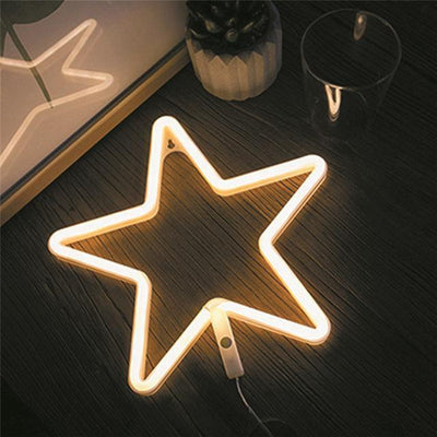 Superstar Sweet Home Neon Wall/Desk Lamp Table/Wall lamp All stars